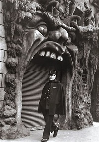 l'enfer (hell), 1952<br /> printed: c.1980 by robert doisneau