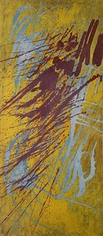 wind in field by stanley william hayter