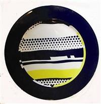 lichtenstein plate (untitled) by roy lichtenstein