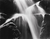 cascade, yosemite national park, ca by bob kolbrener