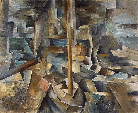 harbor by georges braque
