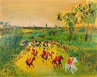 chasse a courre by jean dufy