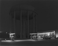 petit's mobil station, cherry hill, nj by george tice