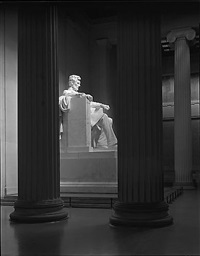 lincoln memorial, washington, dc by george tice