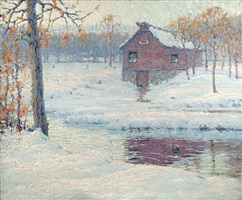winter afternoon by charles jac young