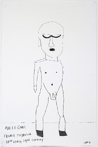 male figure by jonas wood
