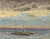la mer by gustave courbet