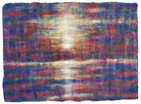 sonnenuntergang am lago maggiore by christian rohlfs