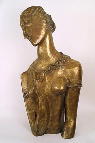 buste de carol janeway by ossip zadkine