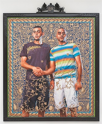 abed al ashe and chaled el awari (the world stage: israel) by kehinde wiley