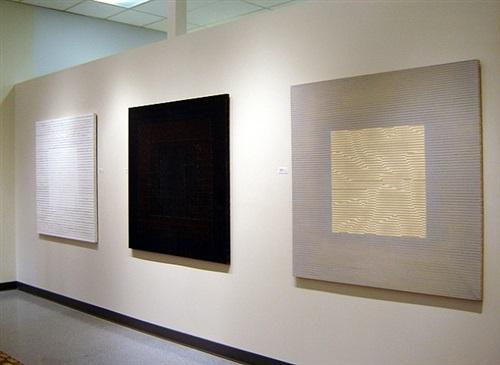 installation of harry nadler:sightings exhibition