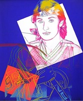 wayne gretsky by andy warhol
