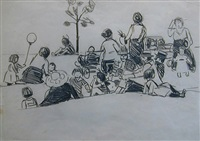 the park by george benjamin luks