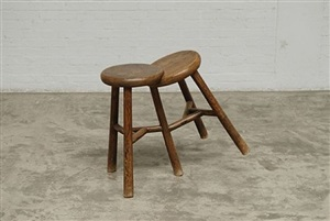 two stools by ai weiwei