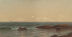 narragansett shore by alfred thompson bricher