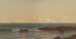 narragansett shore by alfred thompson bricher