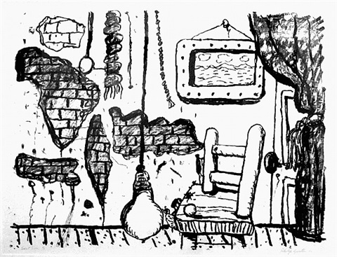 east side by philip guston