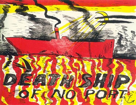 death ship of no port by horace clifford westermann