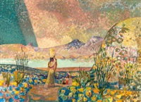 desert spring textures by millard sheets