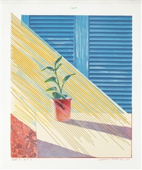 sun, state i by david hockney