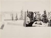 in the garden #78 by jennifer bartlett