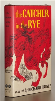 the catcher in the rye by richard prince