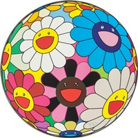 flower ball (algae ball); flower dumpling - two works by takashi murakami
