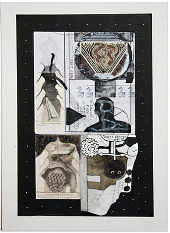 untitled (postcard) by ray johnson
