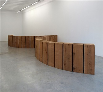 carl andre timber works berlin by carl andre