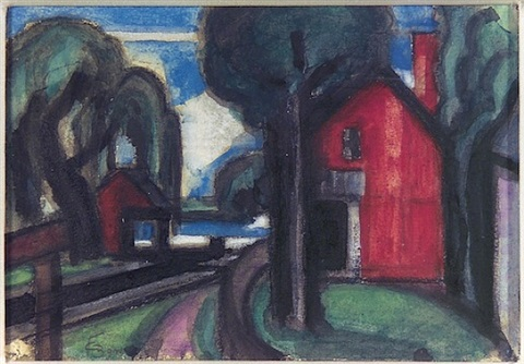 bloomfield lock by oscar florianus bluemner