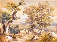 casarlano, near sorrento by giacinto gigante