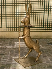lapin de victoire (grand) by claude lalanne