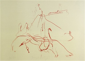 """aus """"hommage à picasso"""" by joseph beuys"""