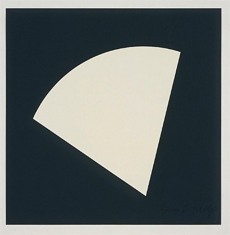 white curve by ellsworth kelly