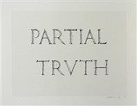 partial truth by bruce nauman