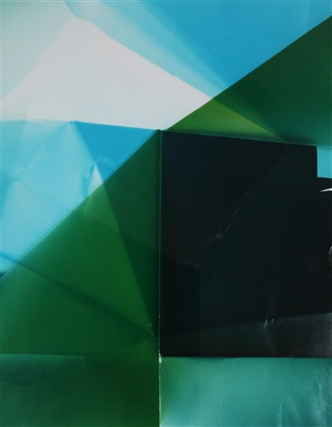untitled (green) by walead beshty