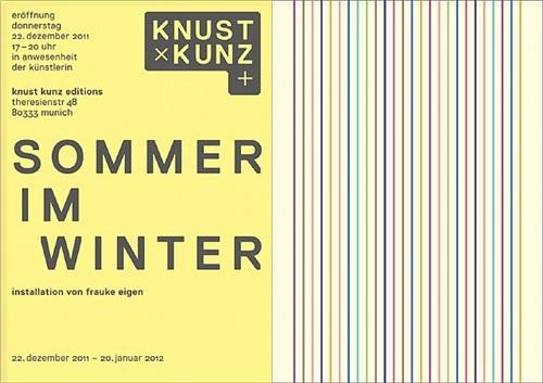 frauke eigen: sommer im winter