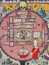 map of truths and beliefs (detail) by grayson perry