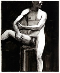 male nude by william theophilus brown