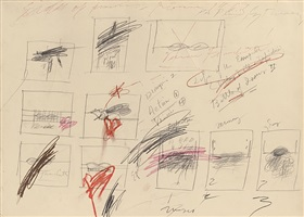ohne titel (venere franchetti) / untitled (venere franchetti) by cy twombly