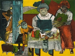 the family by romare bearden