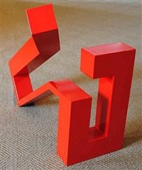 red (maquette) by jane manus