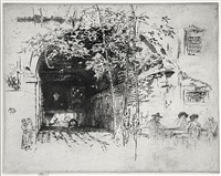 the traghetto by james abbott mcneill whistler