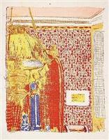 intérieur à la teinture rose ii by edouard vuillard