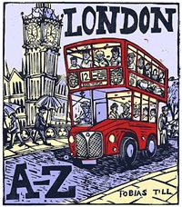 london a-z complete box set by tobias till