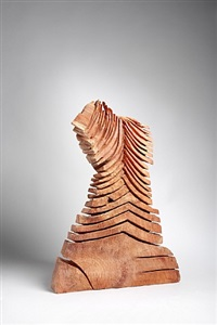 red cut column by david nash