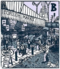 b - borough market by tobias till