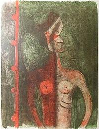 torso de mujer joven by rufino tamayo
