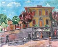 villino della pera in der via senese by hans purrmann