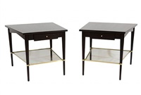 pair of paul mccobb side tables by paul mccobb